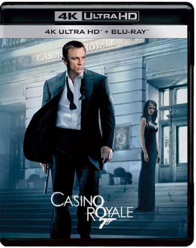 Постер к Джеймс Бонд 007: Казино Рояль / James Bond 007: Casino Royale (2006) UHD BDRemux 2160p от селезень | 4K | HDR | Лицензия
