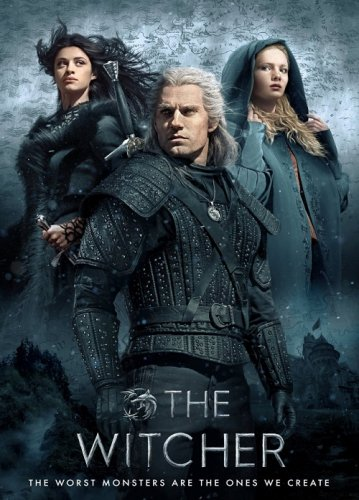 Ведьмак / The Witcher [S01] (2019) WEB-DL-HEVC 1080p от селезень | HDR | Дублированный