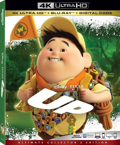Вверх / Up (2009) UHD BDRemux 2160p от селезень | 4K | HDR | Лицензия
