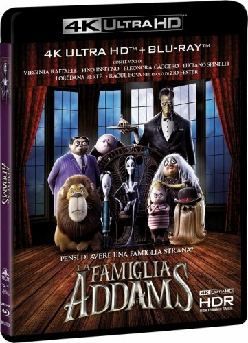 Семейка Аддамс / The Addams Family (2019) UHD BDRemux 2160p от селезень | 4K | HDR | D, A | Лицензия