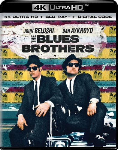 Братья Блюз / The Blues Brothers (1980) UHD BDRemux 2160p от селезень | 4K | HDR | P, A | Расширенная версия