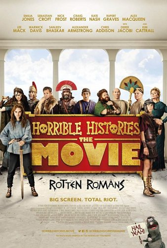 Постер к Ужасные истории: Древние римляне / Horrible Histories: The Movie - Rotten Romans (2019) BDRip 1080p от селезень | iTunes