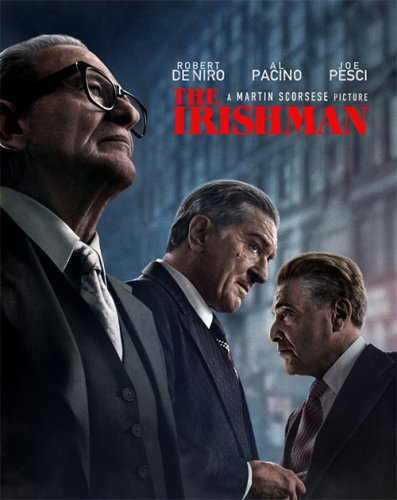 Постер к Ирландец / The Irishman (2019) BDRip 720p от селезень | Netflix